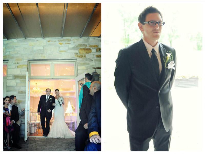 Private Ceremony Reception Later: Sophie & Gino DIY Creative Vineyard Wedding